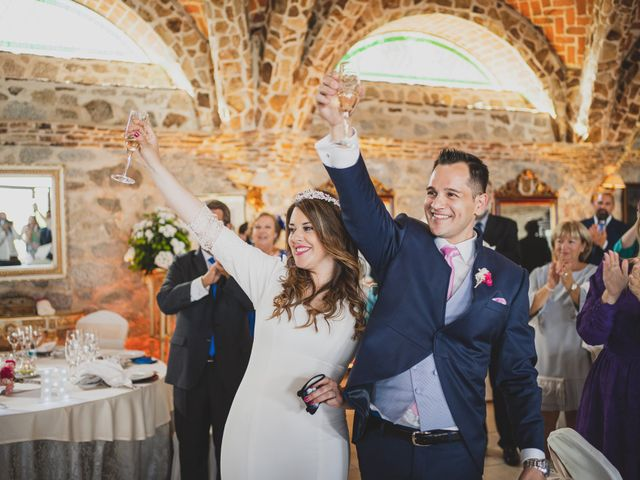La boda de Alberto y Rosa en Mangiron, Madrid 235