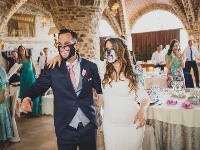 La boda de Alberto y Rosa en Mangiron, Madrid 239