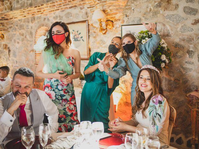 La boda de Alberto y Rosa en Mangiron, Madrid 243