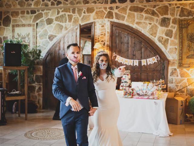 La boda de Alberto y Rosa en Mangiron, Madrid 290