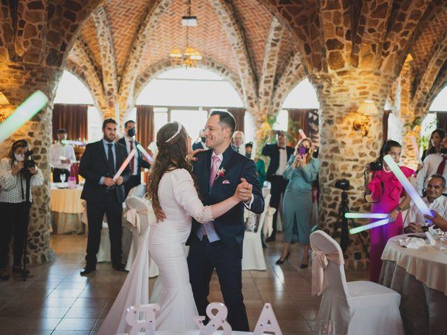 La boda de Alberto y Rosa en Mangiron, Madrid 292