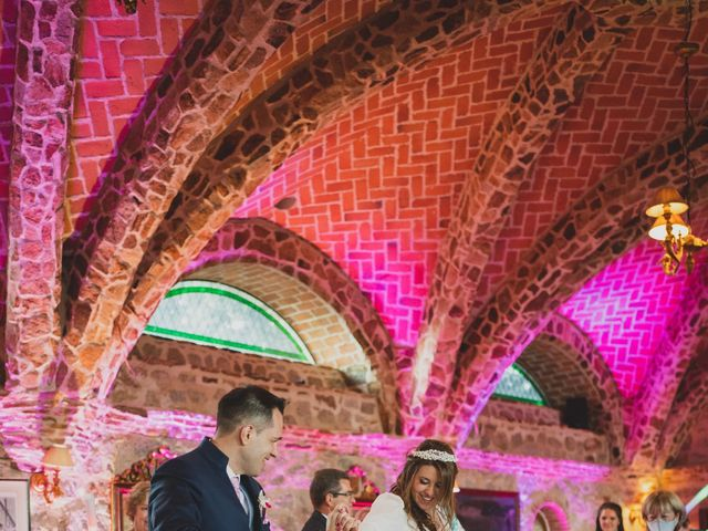 La boda de Alberto y Rosa en Mangiron, Madrid 295