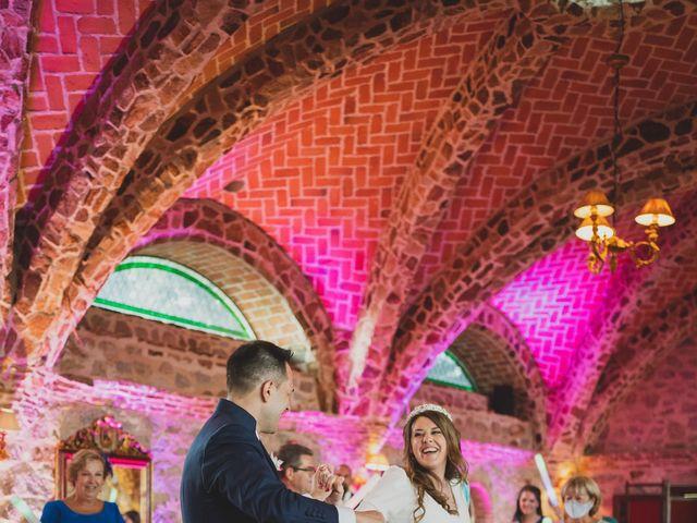 La boda de Alberto y Rosa en Mangiron, Madrid 296