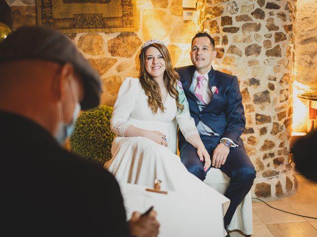 La boda de Alberto y Rosa en Mangiron, Madrid 317