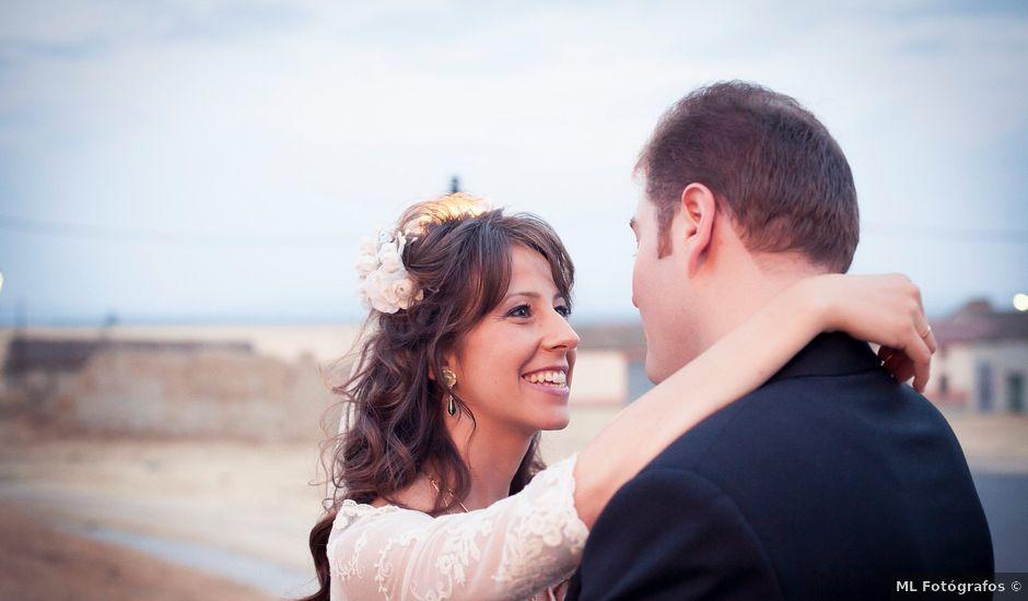 La boda de Adrian y Guadalupe en Bercial, Segovia