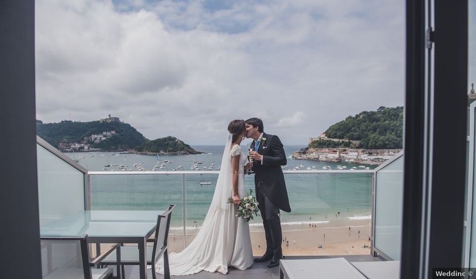 La boda de Borja y Amaia en Donostia-San Sebastián, Guipúzcoa