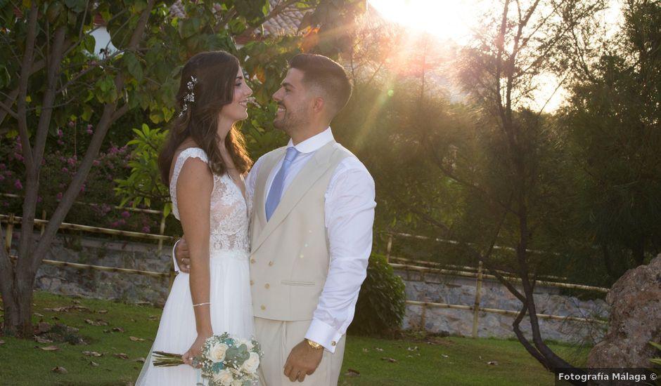 La boda de Adrian y Cristina en Alhaurin De La Torre, Málaga