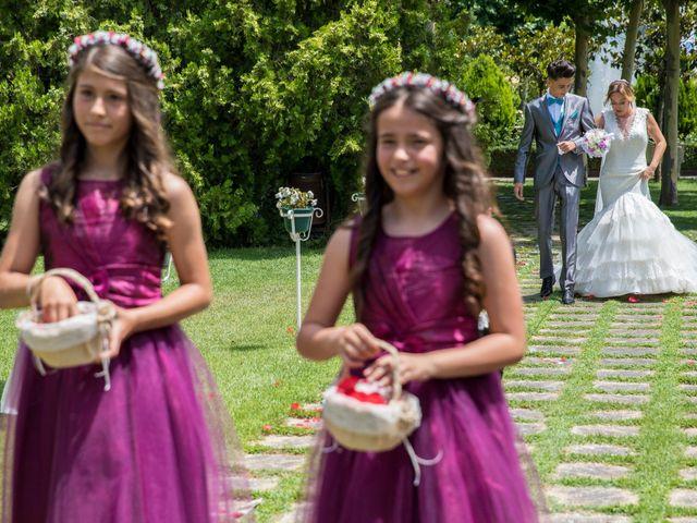 La boda de David y Laura en Yunclillos, Toledo 39