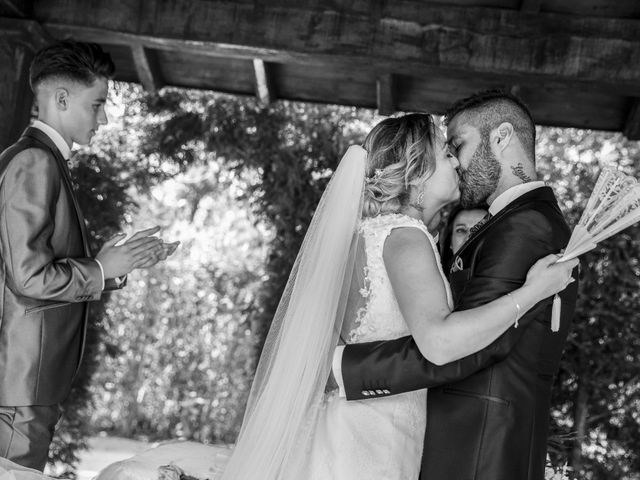 La boda de David y Laura en Yunclillos, Toledo 46