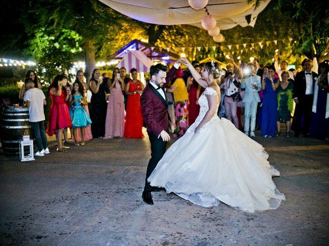 La boda de Alfredo y Lucía  en Saelices, Cuenca 51