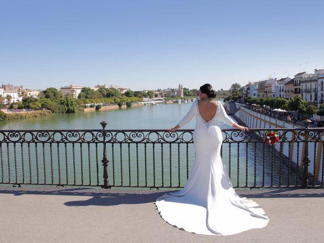 La boda de Wen y Jessy en La Algaba, Sevilla 42
