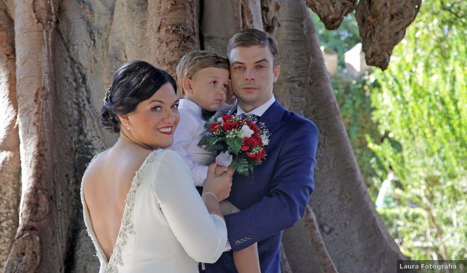 La boda de Wen y Jessy en La Algaba, Sevilla