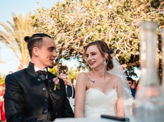 La boda de María y Jony