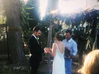 La boda de Carolina mas  y Joan  1