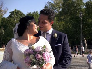 La boda de Carlos y Gema