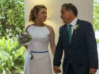 La boda de Antonio y Mari Carmen