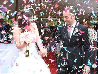 La boda de Albert y Sandra