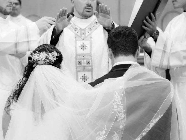 La boda de Estéban y Cristina en Burriana, Castellón 18