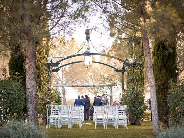 La boda de Alberto y Leticia en Valdetorres De Jarama, Madrid 31