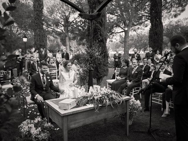 La boda de Alberto y Leticia en Valdetorres De Jarama, Madrid 45