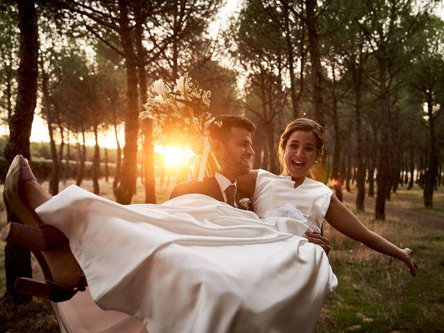 La boda de Alberto y Leticia en Valdetorres De Jarama, Madrid 63
