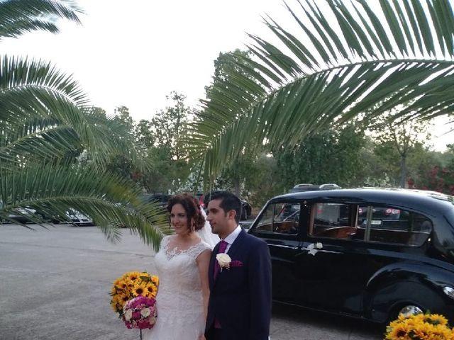 La boda de Álvaro  y Mariángeles  en La Puebla Del Rio, Sevilla 22