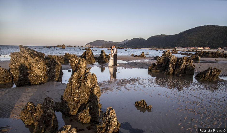 La boda de Raúl y Ainara en Solares, Cantabria