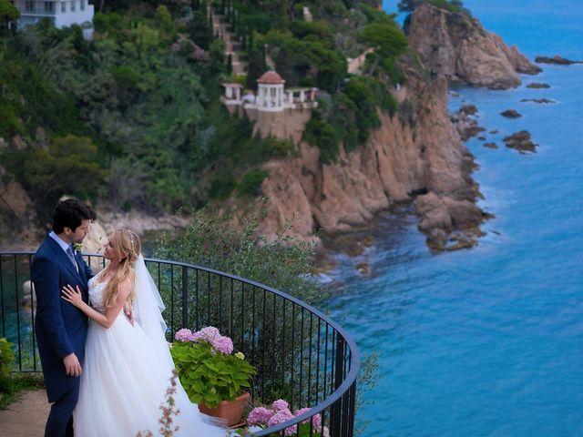La boda de Jordi y Elena en Blanes, Girona 9
