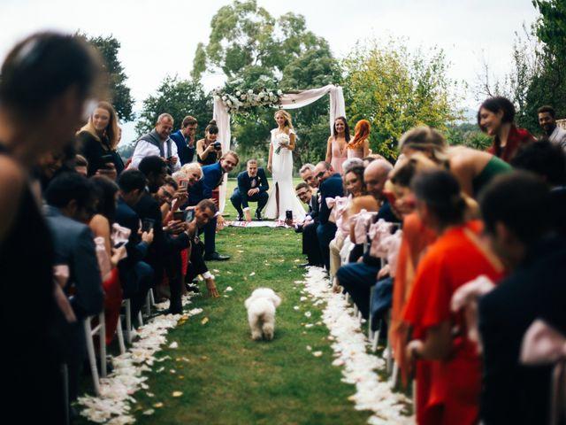 La boda de Raquel y Bogdan