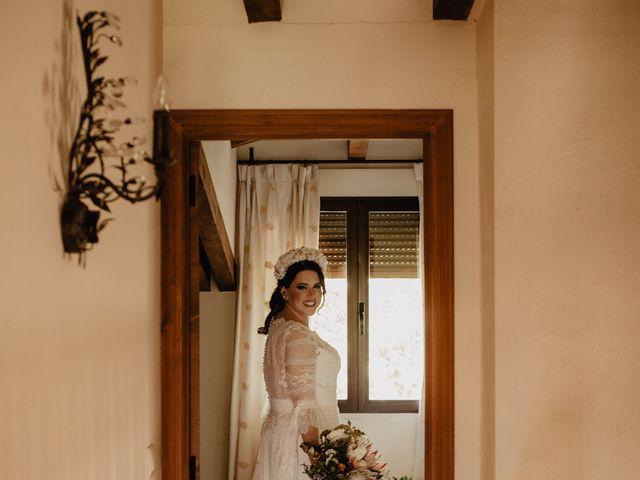 La boda de David y Carla en Navacepedilla De Corneja, Ávila 15