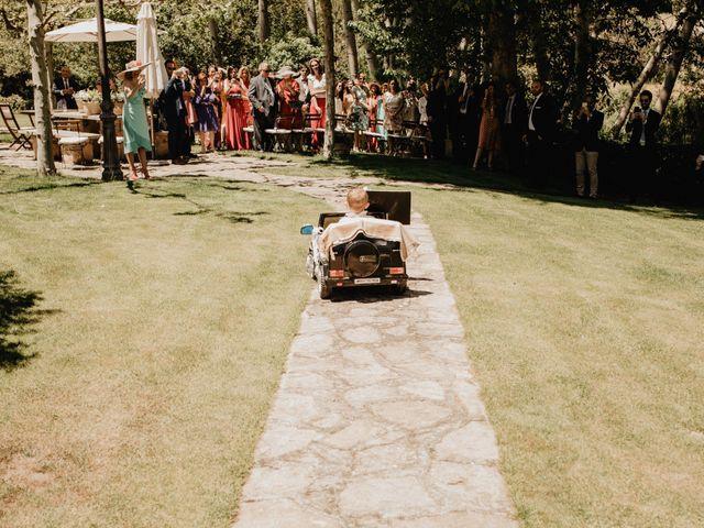 La boda de David y Carla en Navacepedilla De Corneja, Ávila 20
