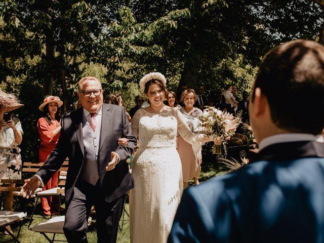La boda de David y Carla en Navacepedilla De Corneja, Ávila 22