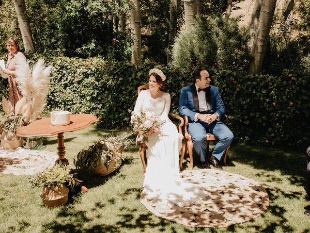 La boda de David y Carla en Navacepedilla De Corneja, Ávila 24