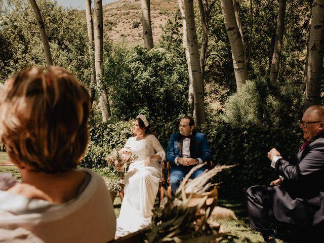 La boda de David y Carla en Navacepedilla De Corneja, Ávila 27