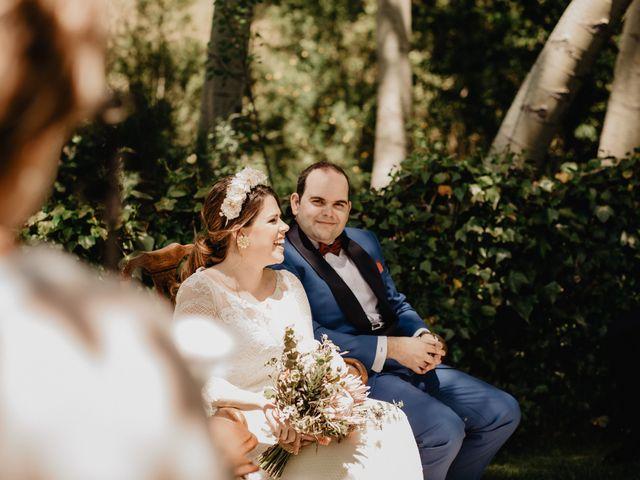 La boda de David y Carla en Navacepedilla De Corneja, Ávila 28
