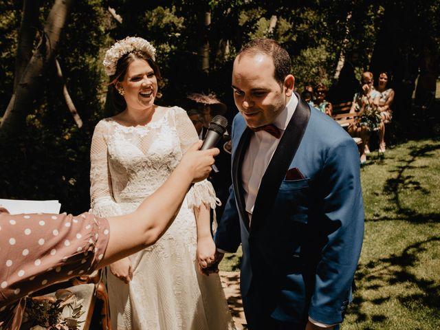 La boda de David y Carla en Navacepedilla De Corneja, Ávila 29
