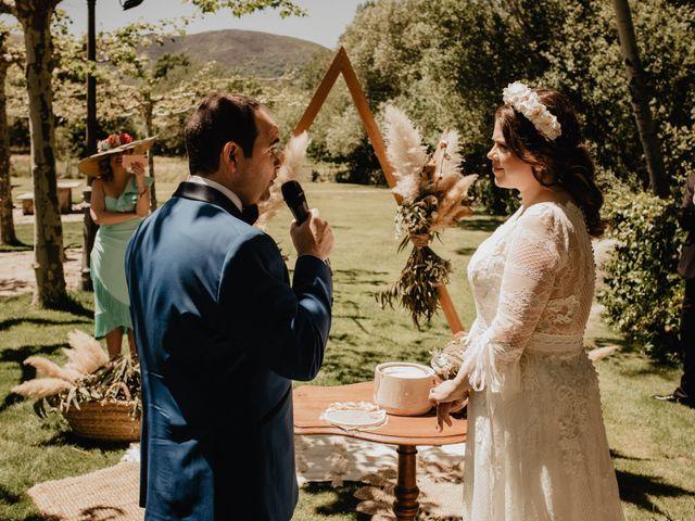 La boda de David y Carla en Navacepedilla De Corneja, Ávila 31