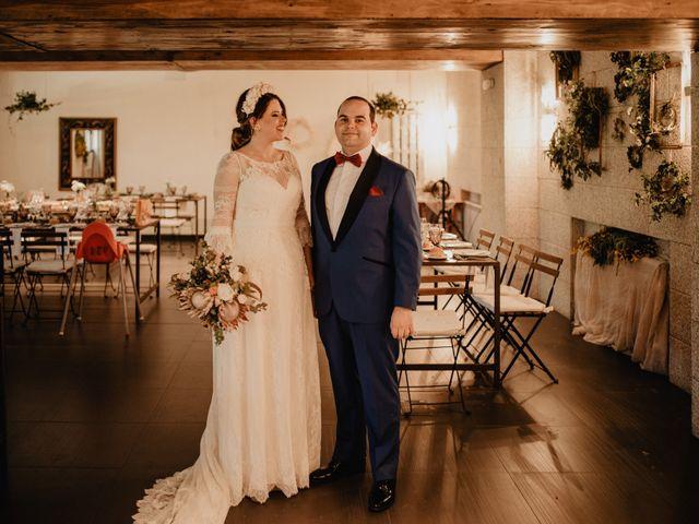 La boda de David y Carla en Navacepedilla De Corneja, Ávila 40