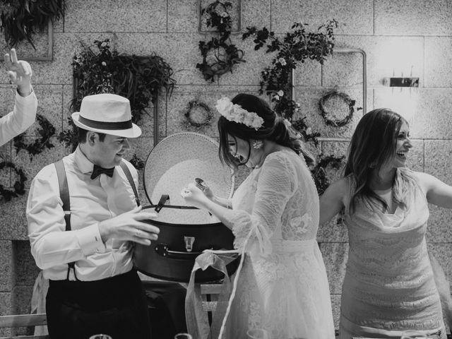 La boda de David y Carla en Navacepedilla De Corneja, Ávila 44