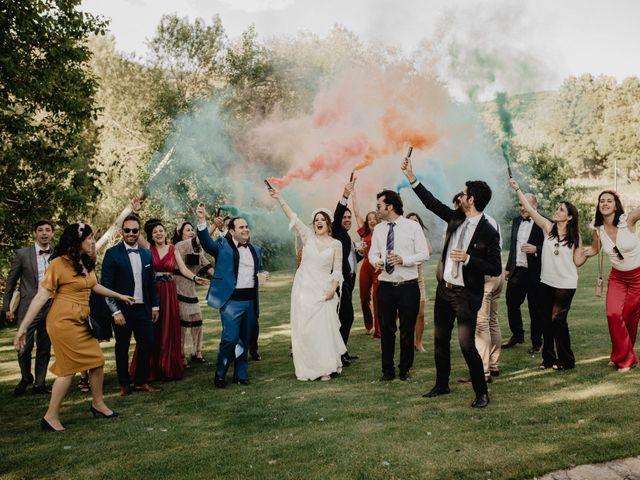 La boda de David y Carla en Navacepedilla De Corneja, Ávila 48