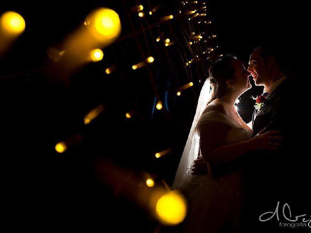 La boda de Aridane y Erica