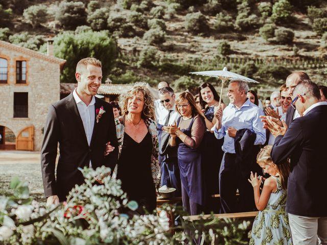 La boda de Gerard y Alba en La Quar, Barcelona 22