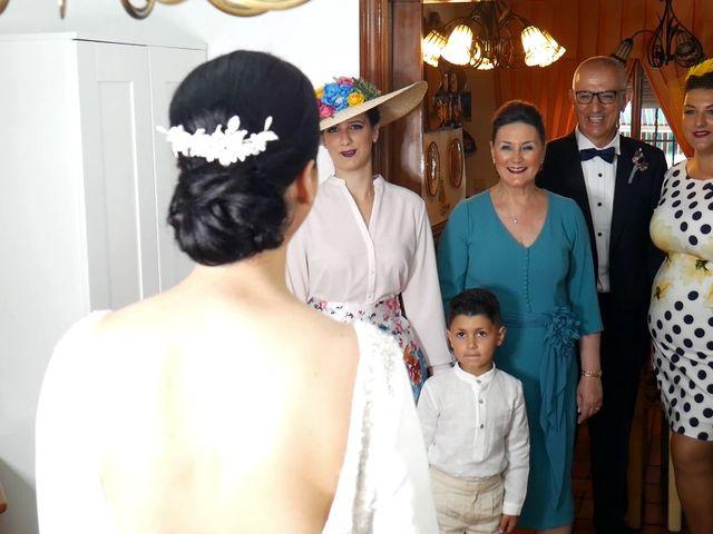 La boda de Cristina y Sergio en Villanueva Del Ariscal, Sevilla 16