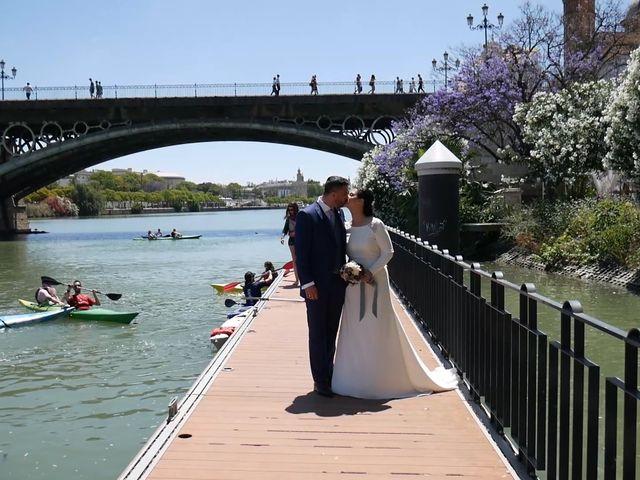 La boda de Cristina y Sergio en Villanueva Del Ariscal, Sevilla 20