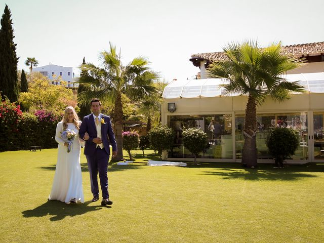 La boda de Agustin y Marisa en Benahavis, Málaga 21