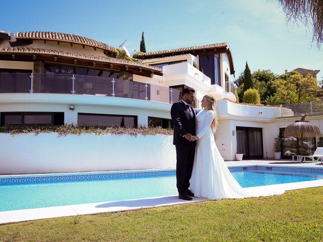La boda de Agustin y Marisa en Benahavis, Málaga 36