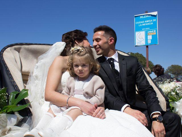 La boda de Sonia y Rubén  en Alzira, Valencia 11