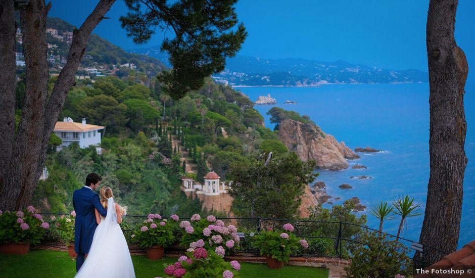La boda de Jordi y Elena en Blanes, Girona