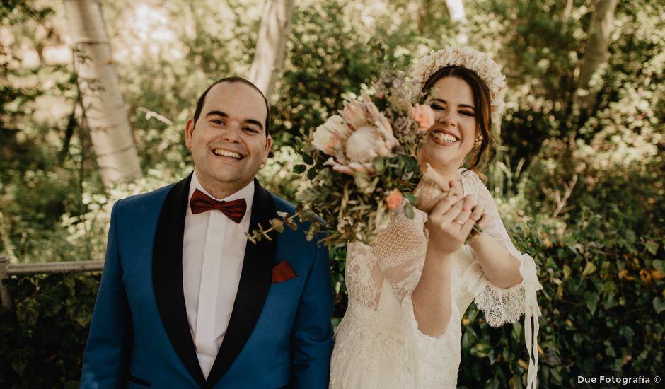La boda de David y Carla en Navacepedilla De Corneja, Ávila