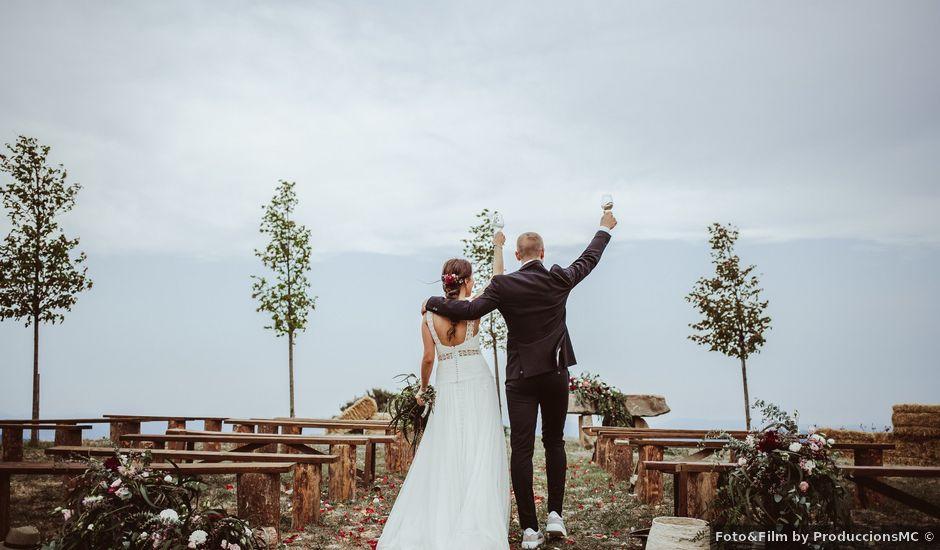 La boda de Gerard y Alba en La Quar, Barcelona